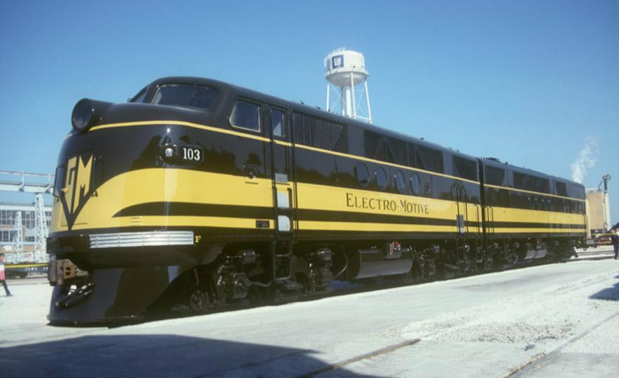 GM EMD FT 103 Demonstrator
