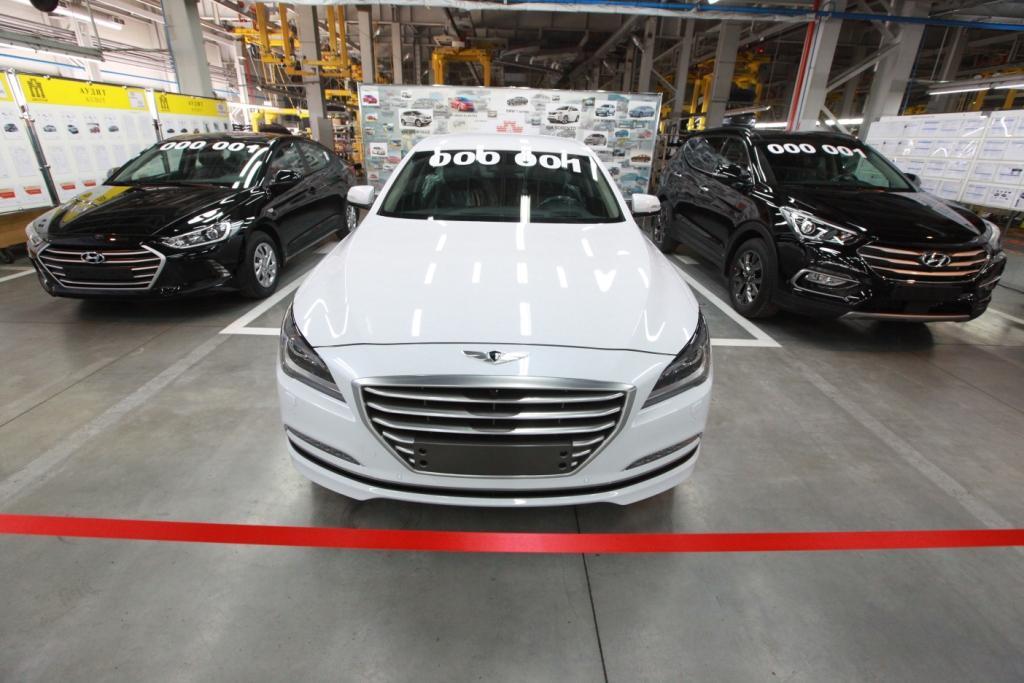 Hyundai Genesis, Santa Fe и Elantra