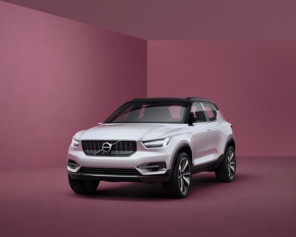 Концепт Volvo 40-ой серии
