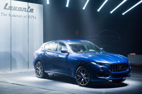 Maserati Levante: новый роскошный кроссовер показали в Москве