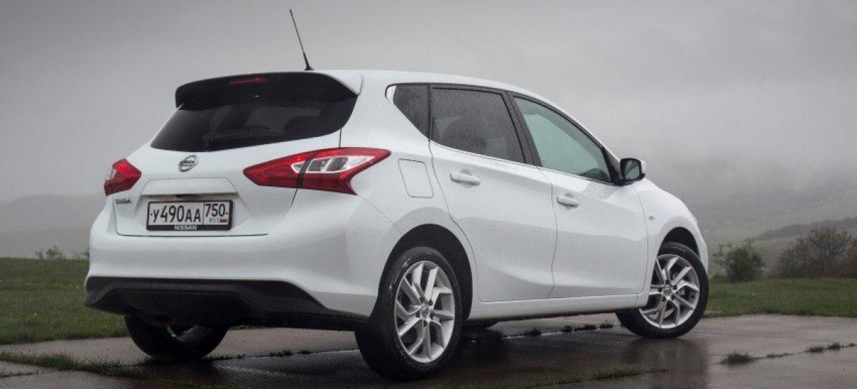 Nissan отзывает в России почти 128 тысяч автомобилей Note и Tiida