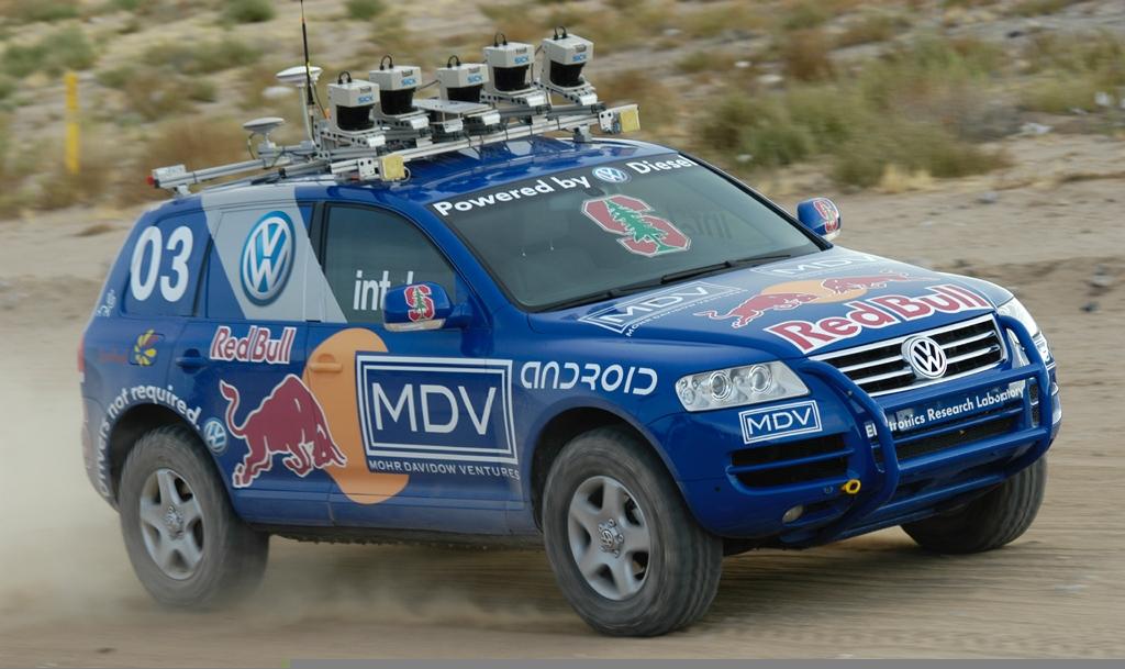 Победитель DARPA Grand Challenge 2005 Стэнли