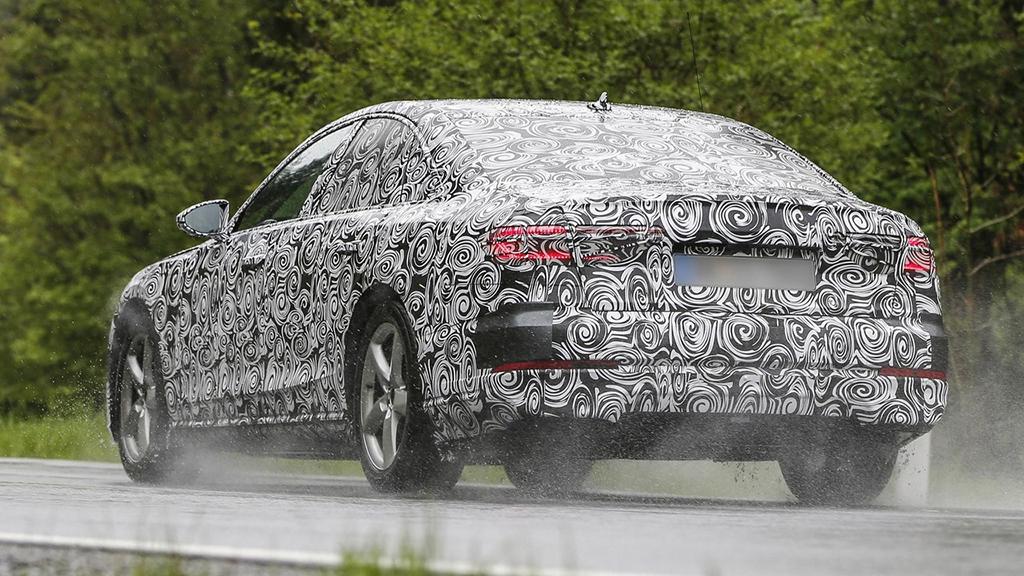 Прототип Audi A8 2017
