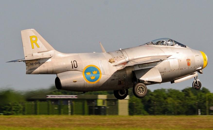 SAAB Tunnan Jet Fighter