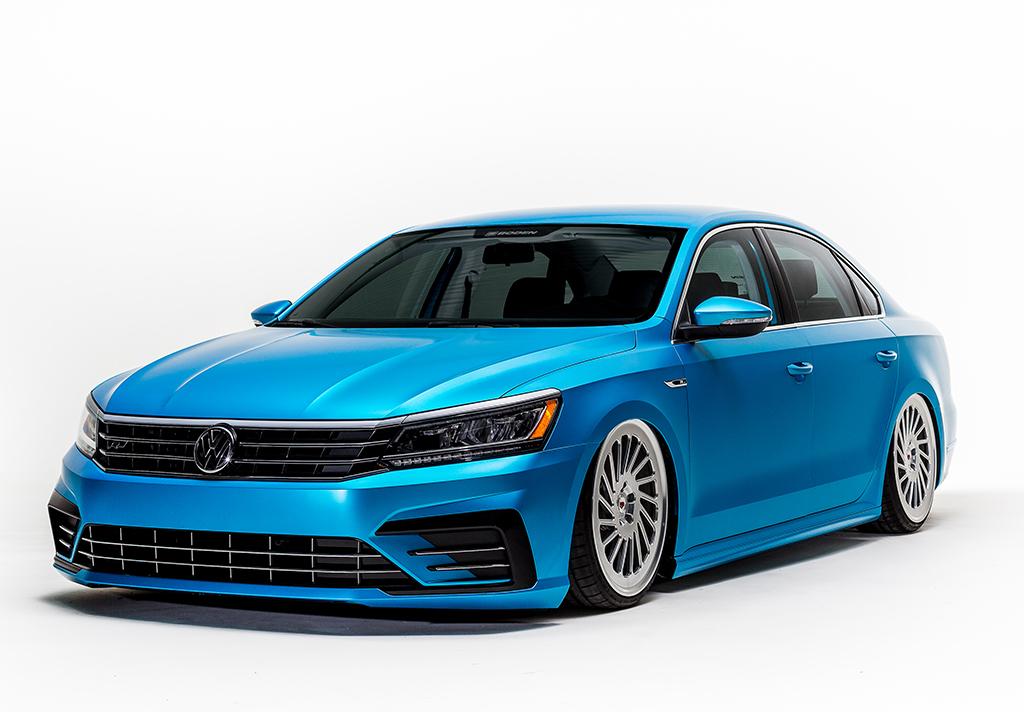 Шоу-кар Volkswagen Passat 2016