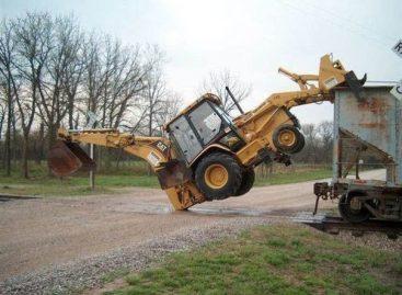 Шустрый трактор
