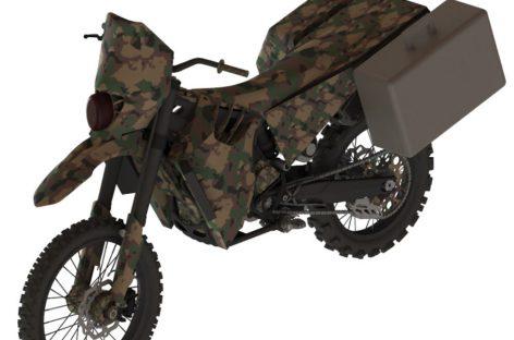 Бесшумный мотоцикл