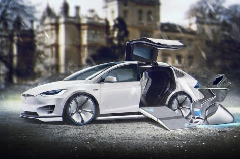 Tesla  обновила прошивку