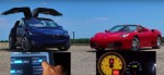 Tesla против Ferrari