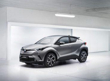 Кроссовер Toyota C-HR возможно появится в России.
