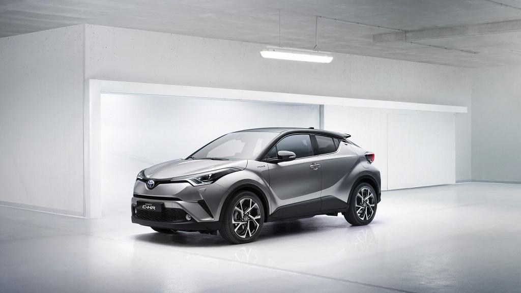 Концепт новой Toyota C-HR 2016