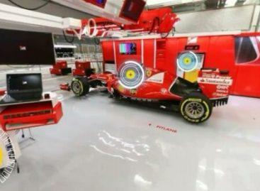 В боксах Scuderia Ferrari