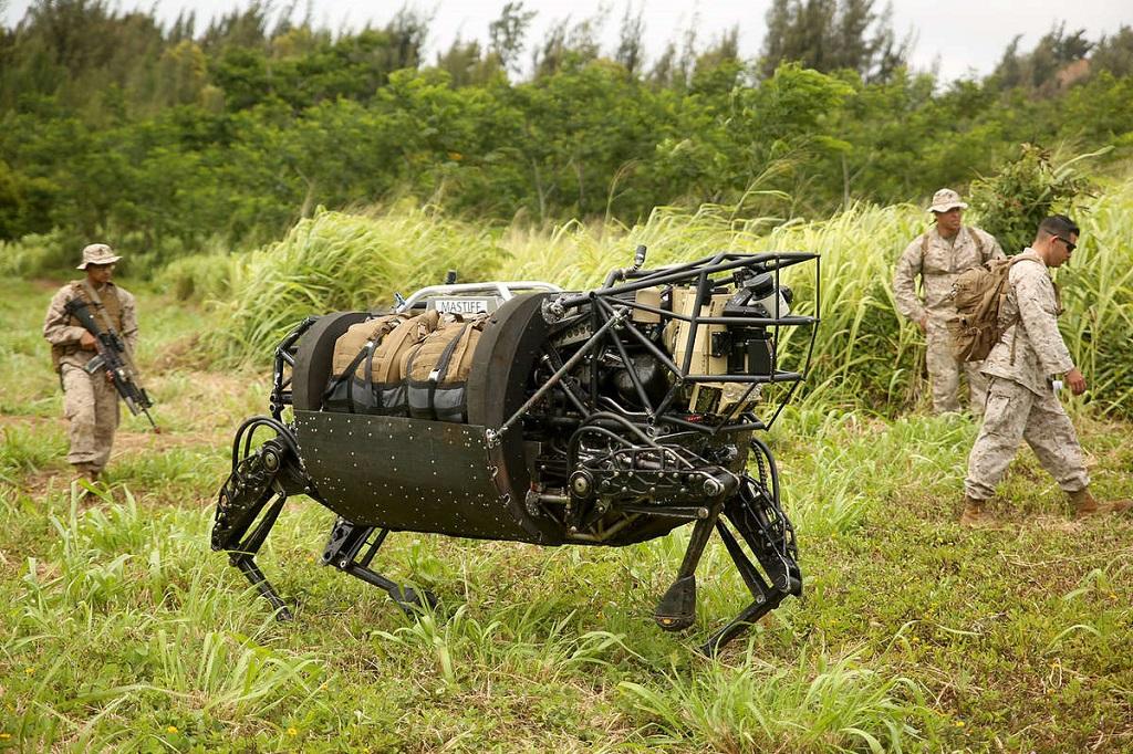 Военный робот DARPA