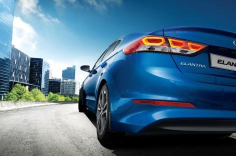 Новая Elantra Hyundai – меньше миллиона рублей