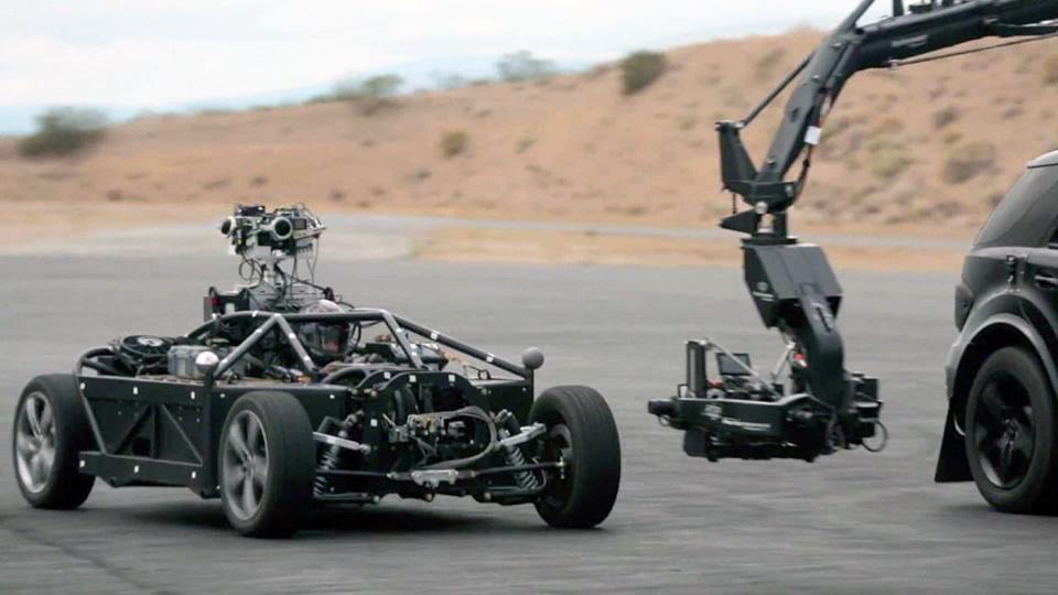 Автомобиль для съемок рекламы Blackbird