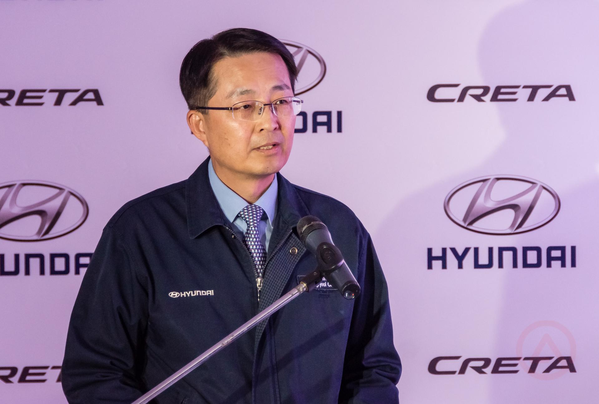 генеральный директор Hyundai Motor Manufacturing Rus Чой Донг Ель