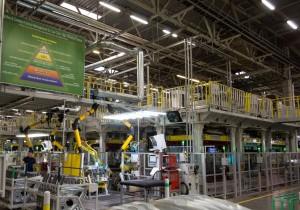 Завод Hyundai Motor Manufacturing Rus в Санкт-Петербурге