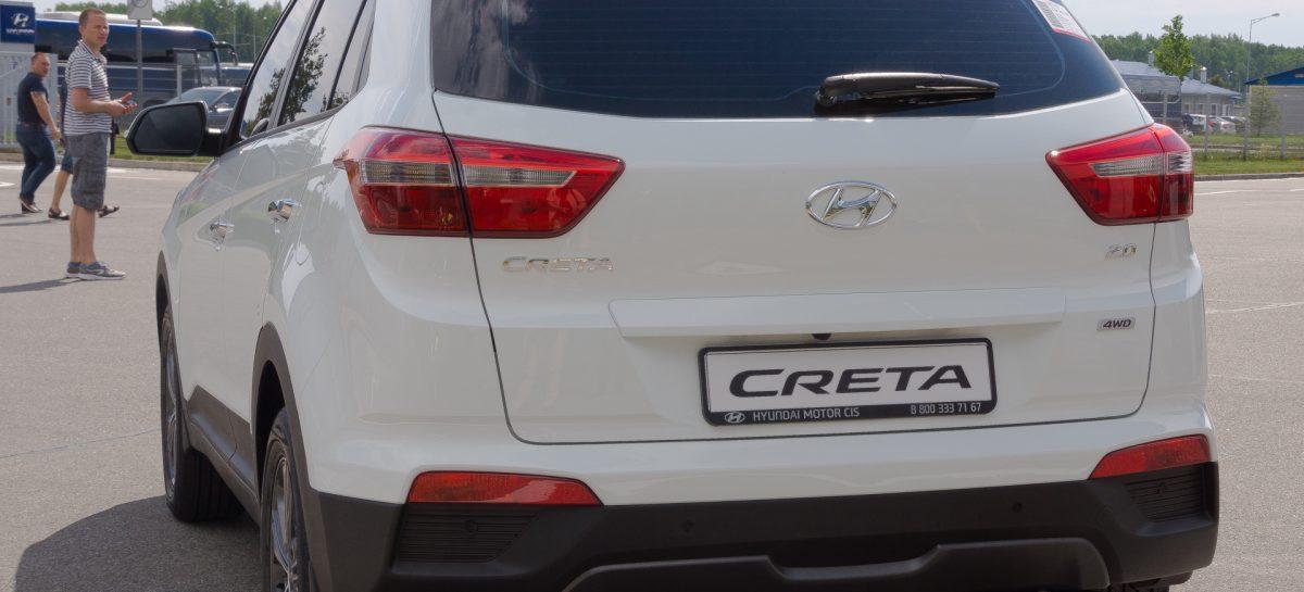 7 месяцев продаж Creta