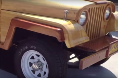 Джип с нетрадиционным кузовом