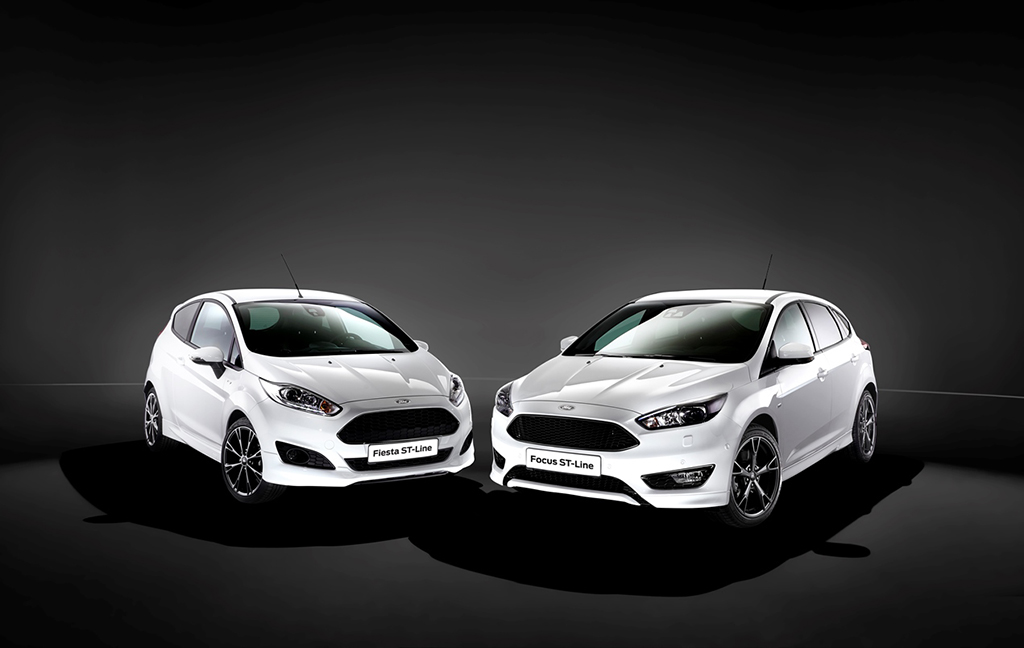 Ford ST-Line - Fiesta и Focus 2016