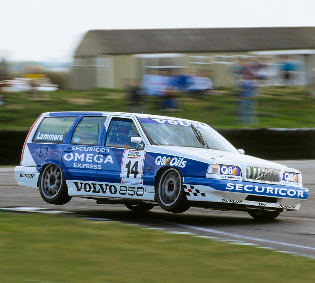 Гоночный универсал Volvo 850