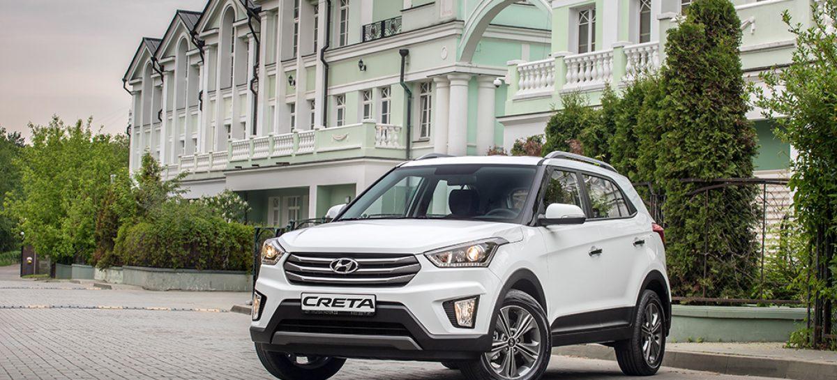 Hyundai Creta: четыре года на российском рынке