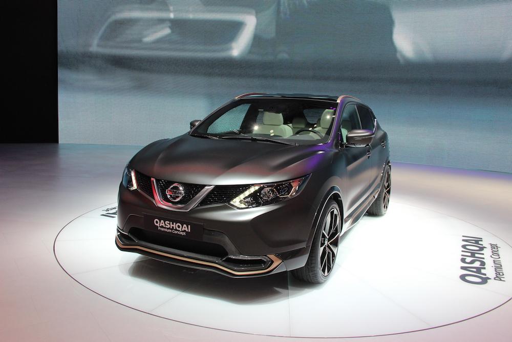 Концепт Nissan Qashqai Premium