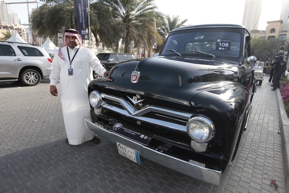 Машины в Саудовской Аравии