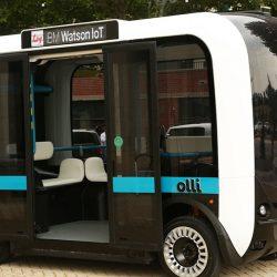 Микоавтобус Olli компании Local Motors