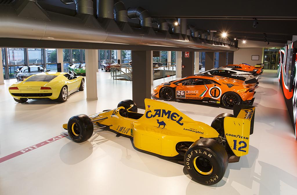 Новый музей Lamborghini
