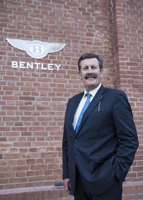 Ричард Чарльзворс, посол бренда Bentley