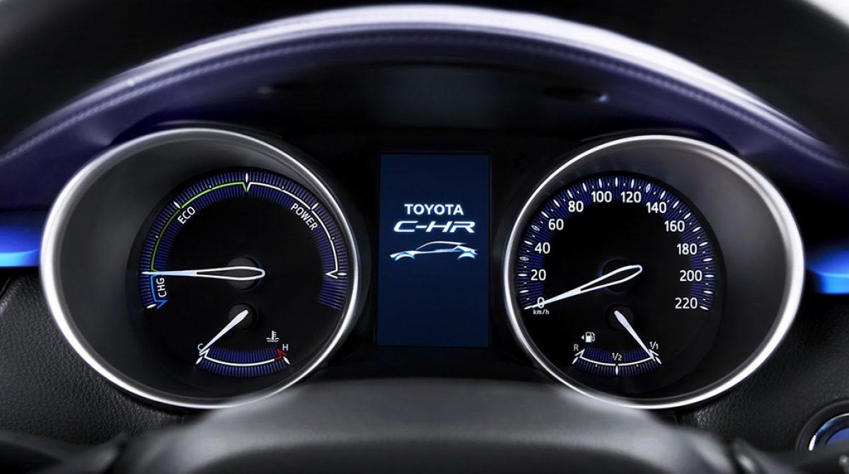 C-HR — новый кроссовер Toyota