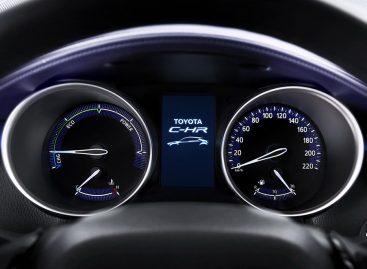 C-HR – новый кроссовер Toyota