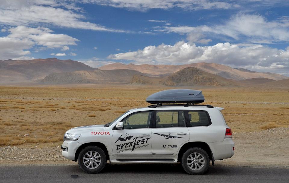 Toyota EverTest. Испытание Эверестом