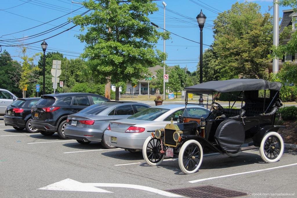 В Старбакс за кофе на Ford Model T 1913