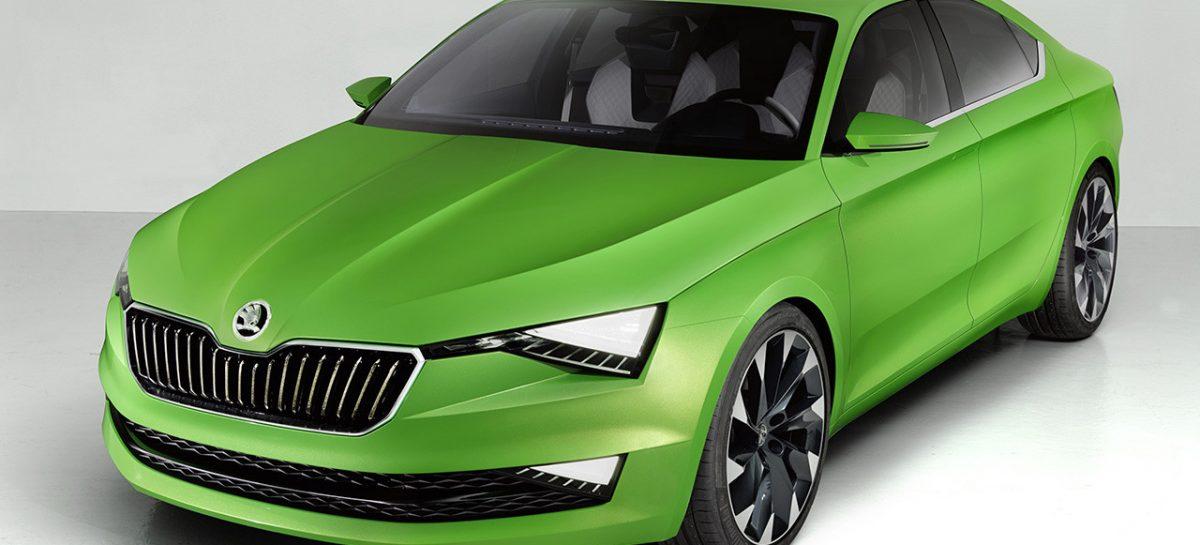Рестайлинговая Skoda Superb получит спортивную версию RS