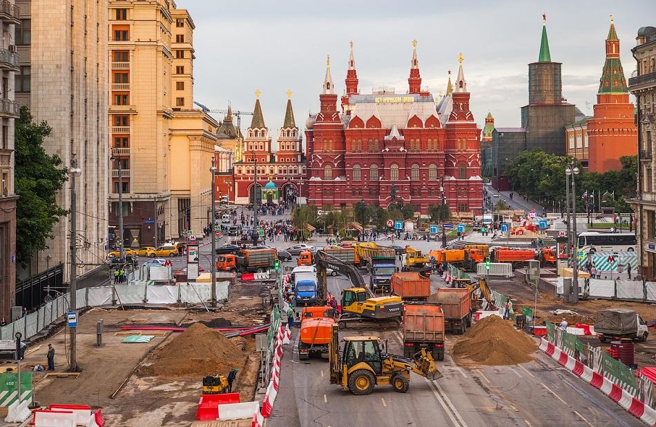 ремонт Тверской улицы