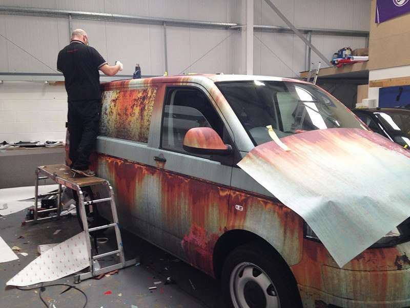 Оклейка под ржавчину Volkswagen