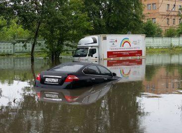 Очередной потоп в Москве — реакция соцсетей (фото и видео)