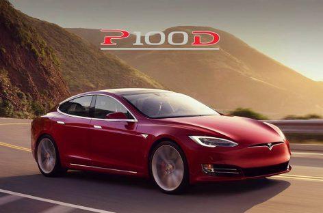 Model S P100D