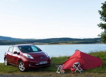 Nissan LEAF в турне по живописным местам Европы