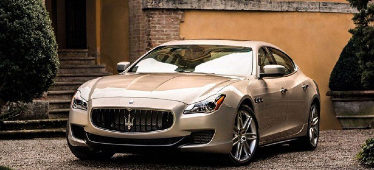 В РФ стали покупать вдвое меньше Maserati