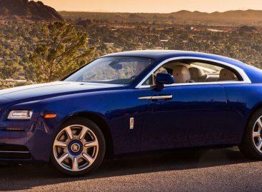Rolls Royce. Дрифт на английском газоне
