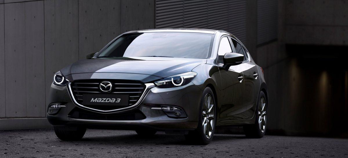Mazda3 в продаже с сентября