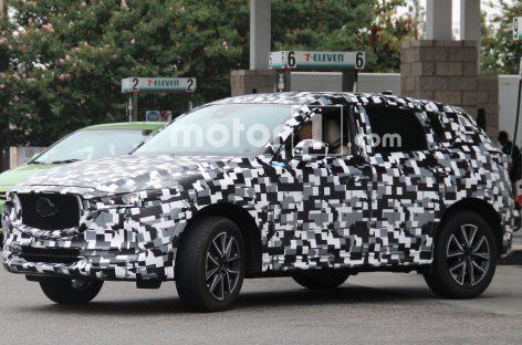 Mazda начала испытания нового CX-5