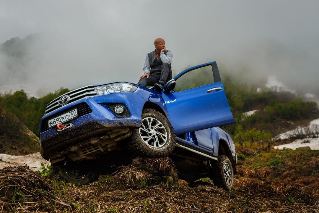 Toyota Hilux и Никита Панфилов