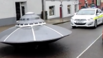 Ирландский патруль обнаружил «летающую тарелку»