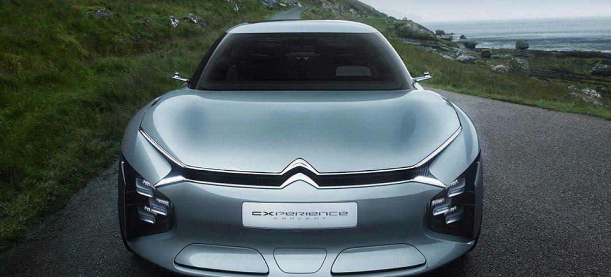 Citroen показал прототип представительского седана