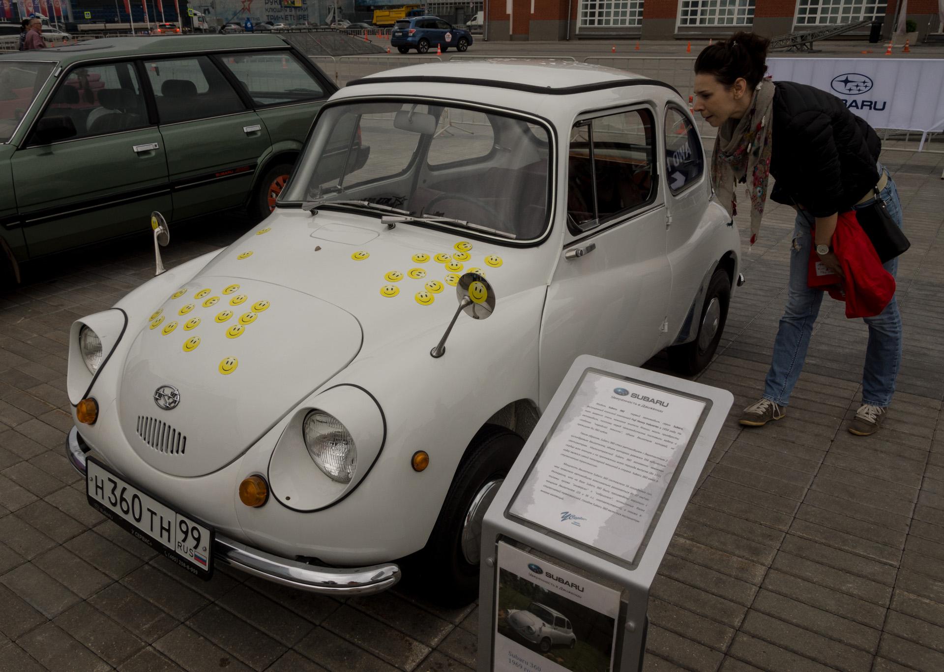 Subaru 360 в Москве