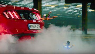 Гонка дронов и суперкары